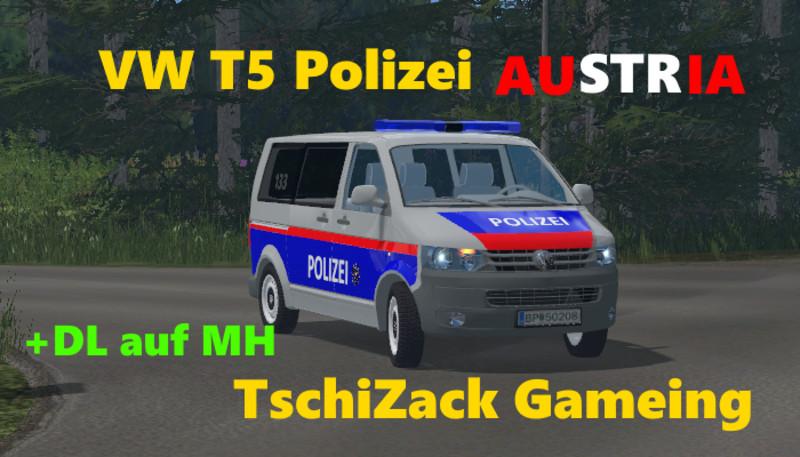 Ls 15 Vw T5 Polizei 214 Sterreich V 2 0 Feuerwehr Mod F 252 R