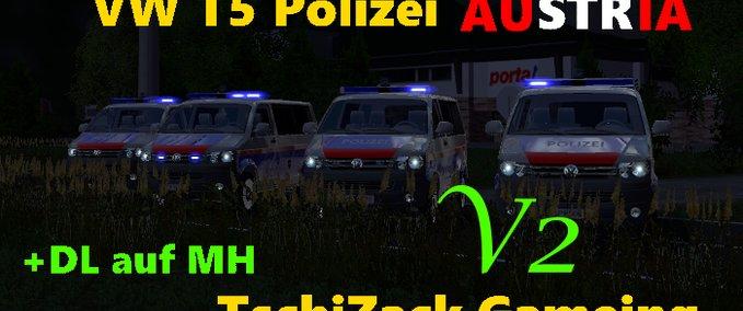 Vw-t5-polizei-osterreich