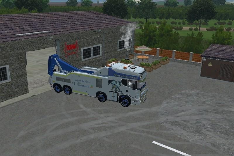 LS 15: Scania R500 Abschlepper v 1 Scania Mod für ...