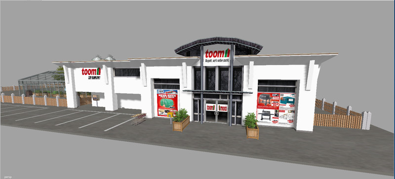 ls 15 toom baumarkt v 2016 geb ude mod f r landwirtschafts simulator 15. Black Bedroom Furniture Sets. Home Design Ideas