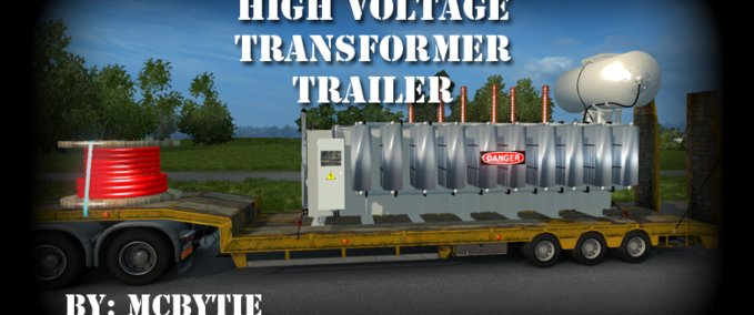 High-voltage-transformer-trailer