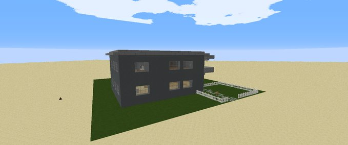 minecraft familien haus v 1 0 maps mod f r minecraft. Black Bedroom Furniture Sets. Home Design Ideas