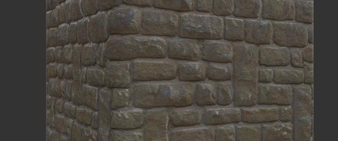 Brick-chipped