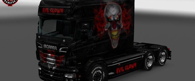 Evil-clown-skin-for-rjl-scania-r-longline