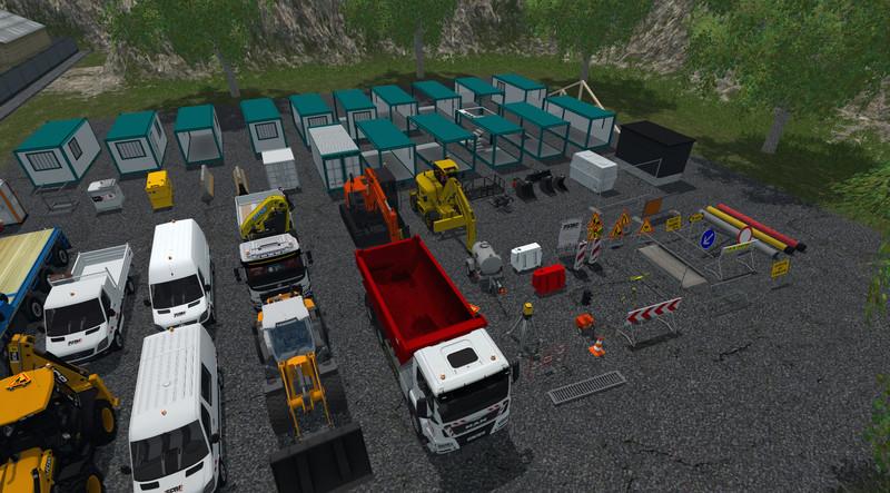 Fs 15 pack 2 tpm objet transportable v 1 0 other vehicles for Pack travaux