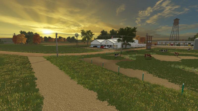 FS 15 FS15 County Line v 11 Big Maps Mod fr Farming Simulator 15