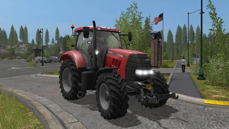 FS 17: Case IH PUMA 160 v 1 1 1 Case Mod für Farming
