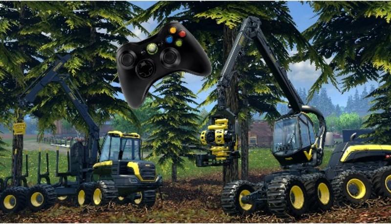 FS 17: xbox 360 controller v 3 0 Scripts Mod für Farming