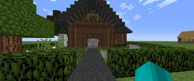 Minecraft-redstone-house-v1