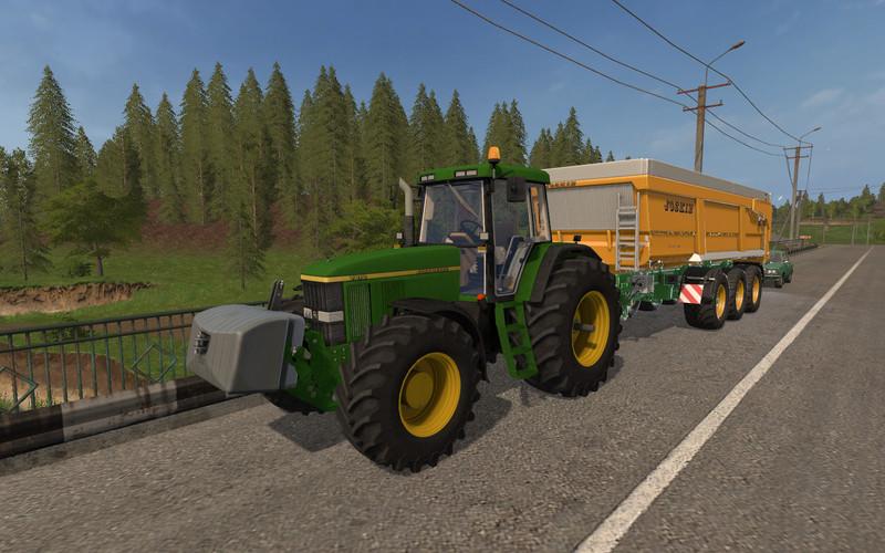 FS 17: John Deere 7810 v 1 0 John Deere Mod für Farming Simulator 17