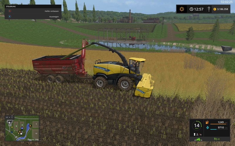 FS 17: AugerWagon for Woodchips &