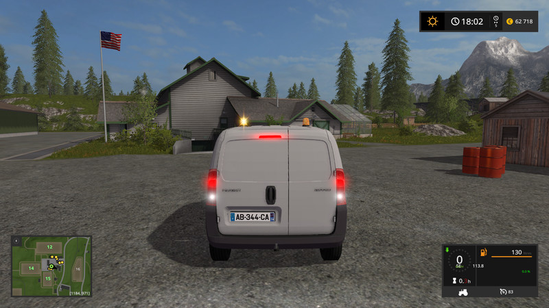 ls 17 peugeot bipper v1 2 v 1 2 pkws mod f r landwirtschafts simulator 17. Black Bedroom Furniture Sets. Home Design Ideas