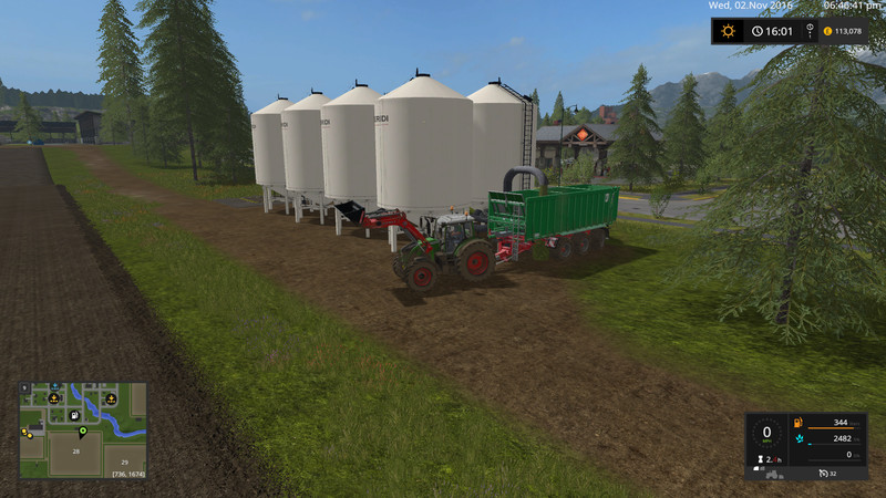 FS 17: cow silo for placement in GE v 1 1 Objects Mod für