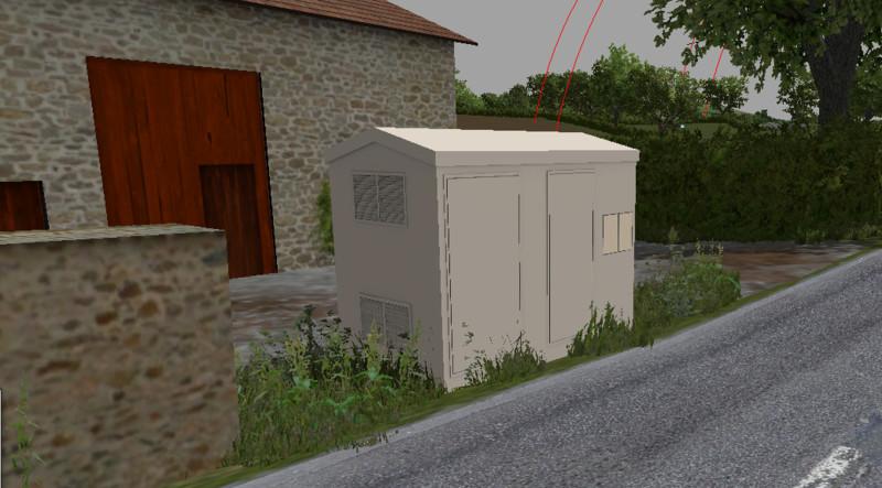 fs 15 fs15 poste telecom edf v 1 0 buildings mod f r farming simulator 15. Black Bedroom Furniture Sets. Home Design Ideas