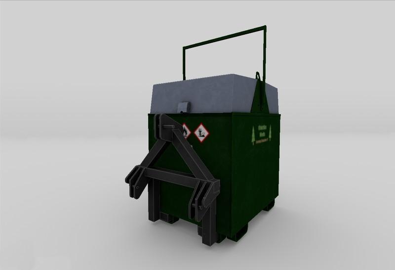 Ls 17 Mobiler 800l Dieseltank Für Den Forst V 11 Sonstige