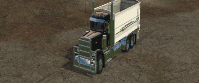 Peterbilt-389-grain-truck