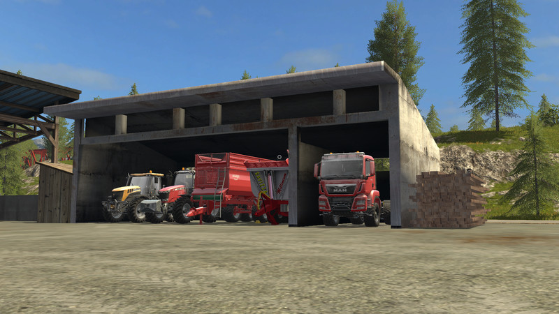 FS 17: toolshed, crop storage placeable v 1 0 Placeable