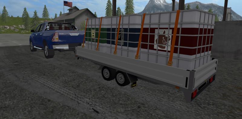 Farming Simulator  Car Trailer