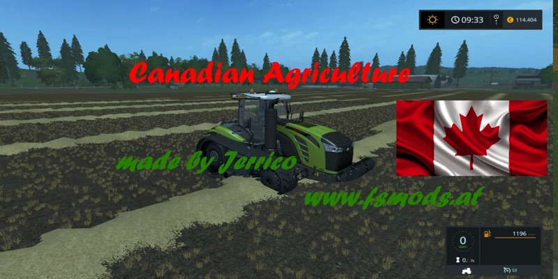 FS 17 Canadian Agriculture map v 13 Maps Mod fr Farming