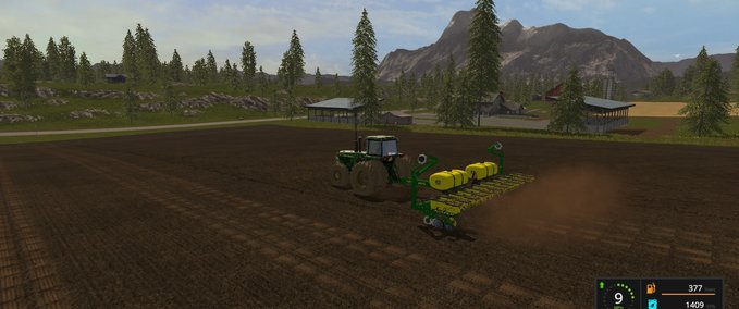 Fs 17 John Deere 1760 12 Row Planter V 1 1 1 Seeders Mod Fur