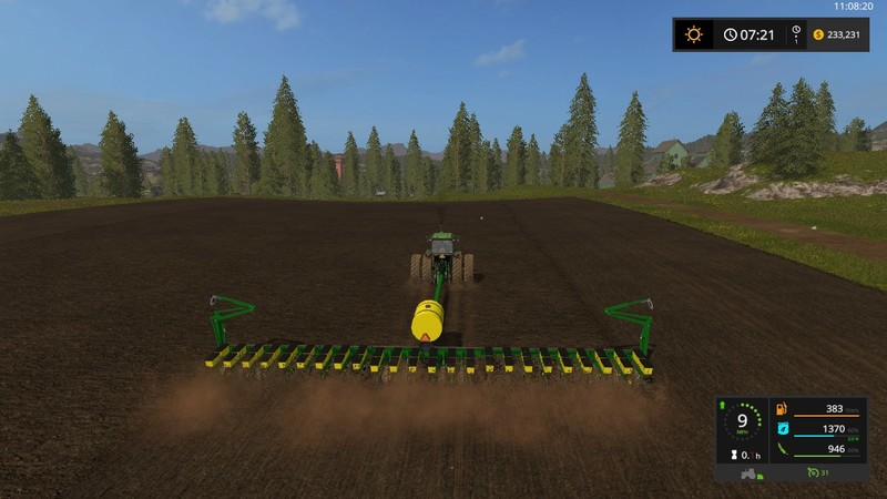 Fs 17 John Deere 7200 24 Row Planter V 1 1 1 Seeders Mod Fur