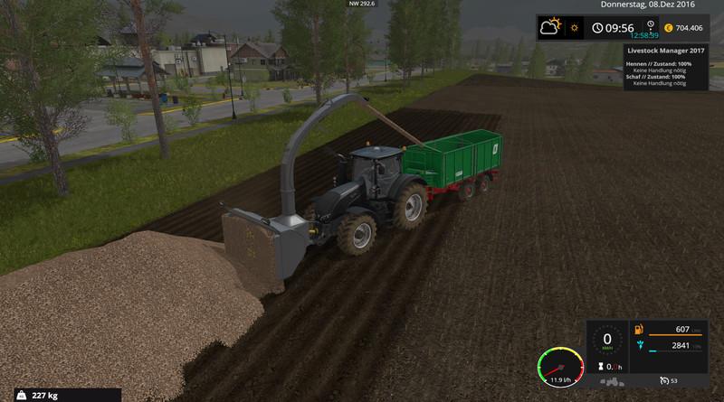 FS 17: silage cutter v 3 1 Other Implements Mod für Farming Simulator 17
