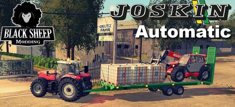 fs 17 joskin wago loader 10m 8m autoloader v 1 0 0 2 automatic bale transport mod f r farming. Black Bedroom Furniture Sets. Home Design Ideas