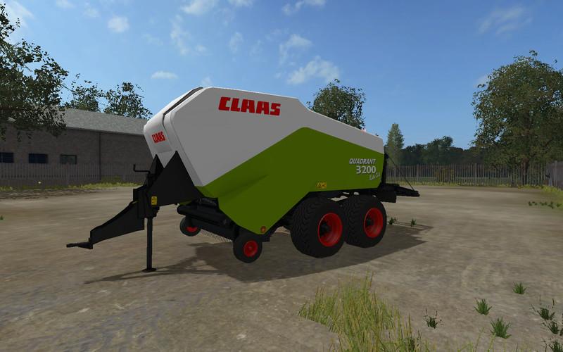 Ls 17 Claas 3200 V 1 0 Pressen Mod F 252 R Landwirtschafts