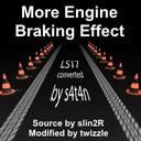 Motor-bremseffekt