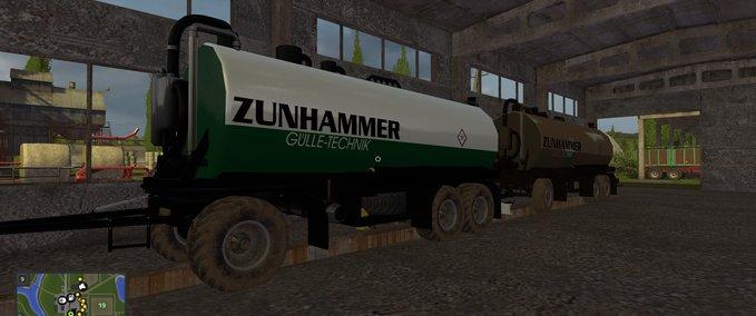Zunhammer-gulletransporter