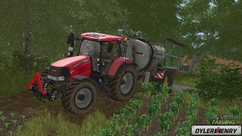 FS 17: Case IH Puma CVX 185 200 230 v 1 Case Mod für Farming