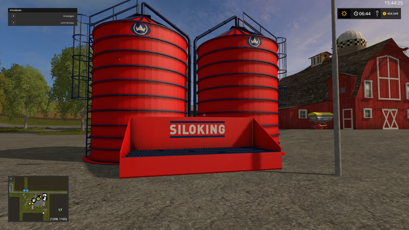 FS 17: Interim storage for straw and pig feed v 1 0 0 0 Placeable