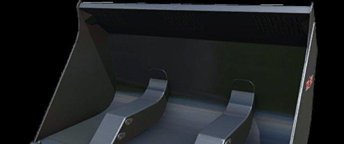 Telelader-hochkipp-schaufel