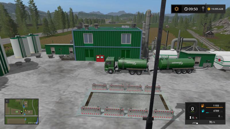 FS 17: BIO-Diesel Refinery placeable v 3 0 0 0 Placeable