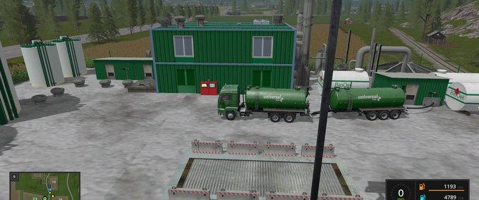 Bio-diesel-raffinerie-platzierbar