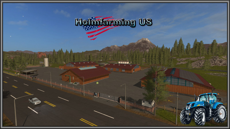 FS Holmfarming US V Maps Mod Für Farming Simulator - Us 17 map