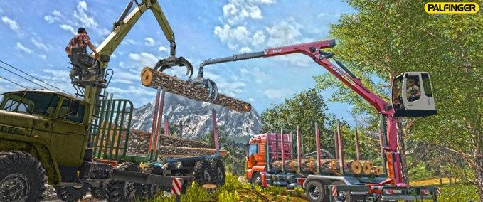 Man-tgs-33-480-forestry-truck-trailer