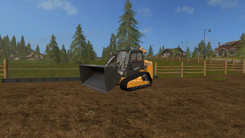 ls 17 jcb 325 t ohne gitter v 1 0 bagger radlader mod f r landwirtschafts simulator 17. Black Bedroom Furniture Sets. Home Design Ideas