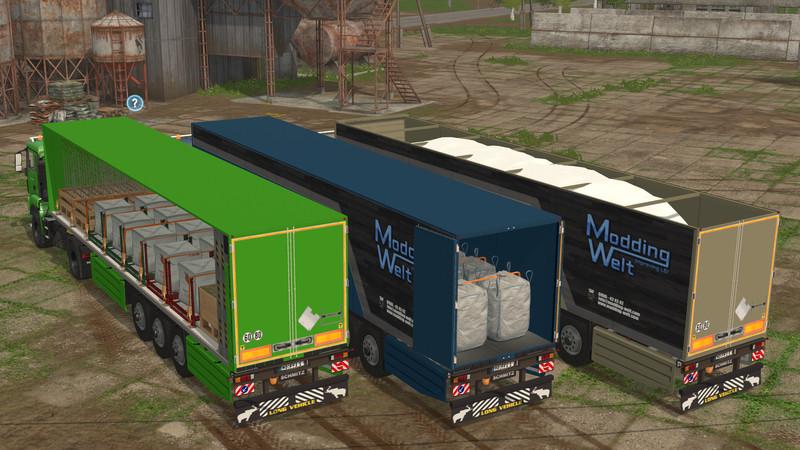 FS 17: Schmitz Cargobull v 1.1.0.1 Trailers Mod für Farming Simulator 17