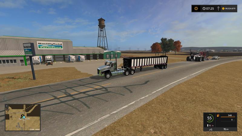 FS 17 California Central Valley v 1 Beta Big Maps Mod fr Farming
