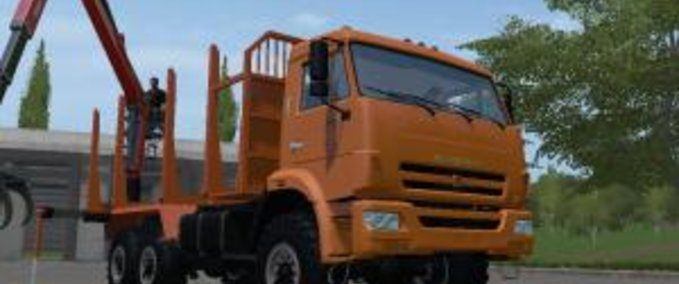 Kamaz-43118-timber
