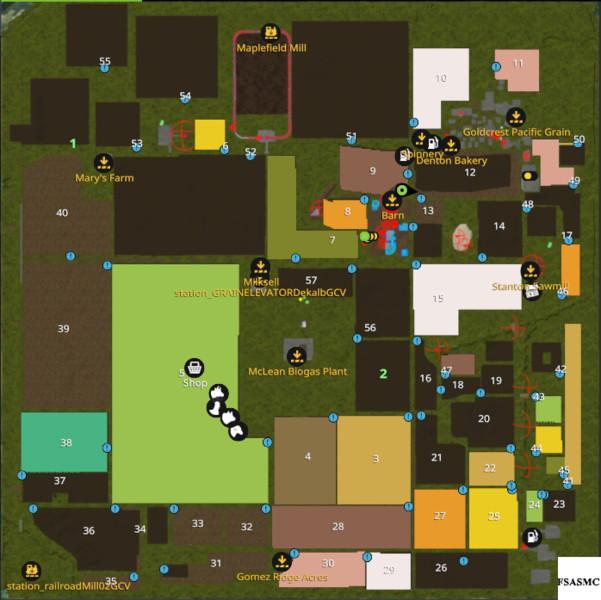 FS Oklahoma Usa V Maps Mod Für Farming Simulator - Us map mod fs 17