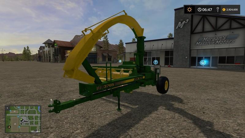 FS 17: John Deere Forager v 1 4 Other Implements Mod für Farming