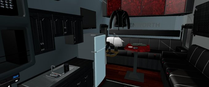 Kenworth-w900-long-remix-interior