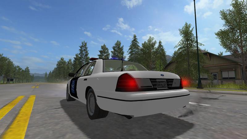 Fs 17 Ford Crown Victoria Police Cruiser V 1 0 Cars Mod Fur Farming