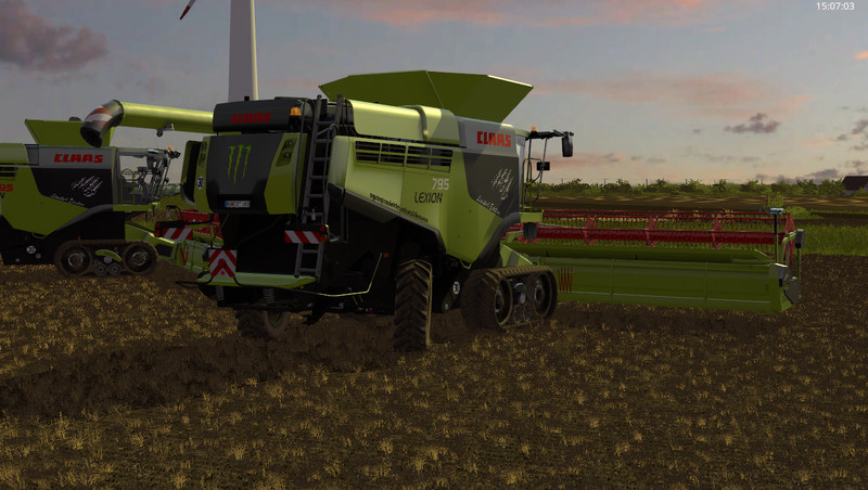 Super FS 17: CLAAS Lexion 795 Monster Edition v 1.0 Lexion Mod für @LB_83
