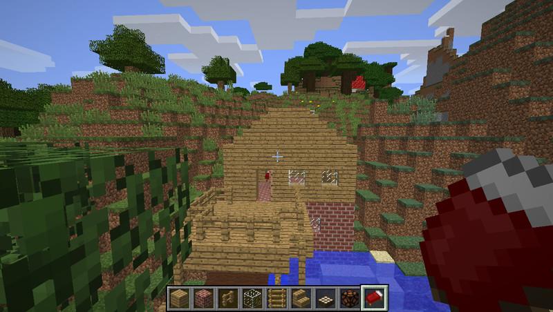 Minecraft haus zum selber einrichten v 1 1 maps mod f r - Minecraft haus einrichten ...