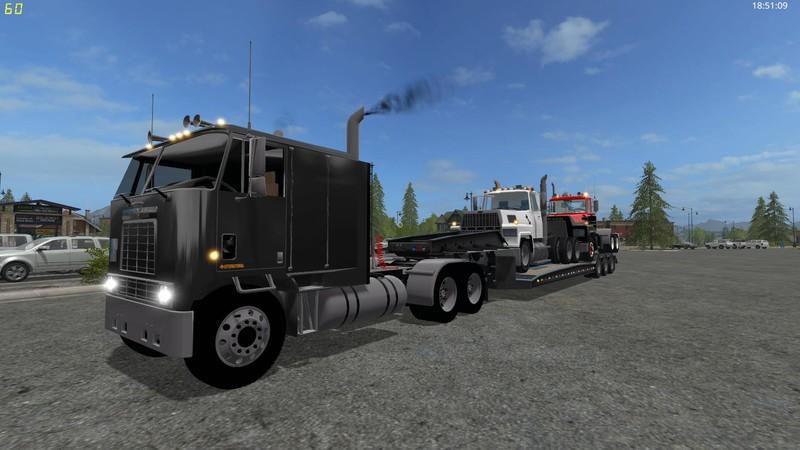 FS 17: International Eagle COE v 1 0 Trucks Mod für Farming