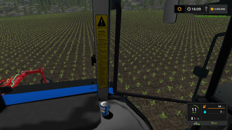 FS 17: New Holland T5070 v 1 0 0 0 New Holland Mod für