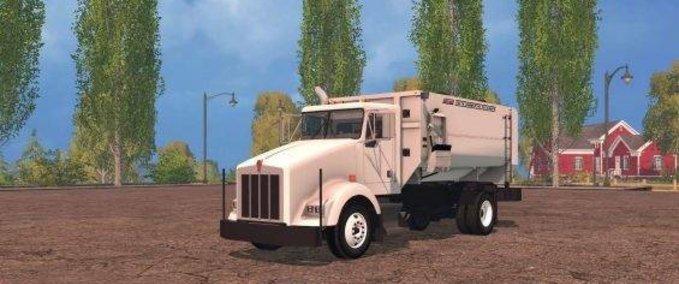 Kenworth-feed-mixer-truck